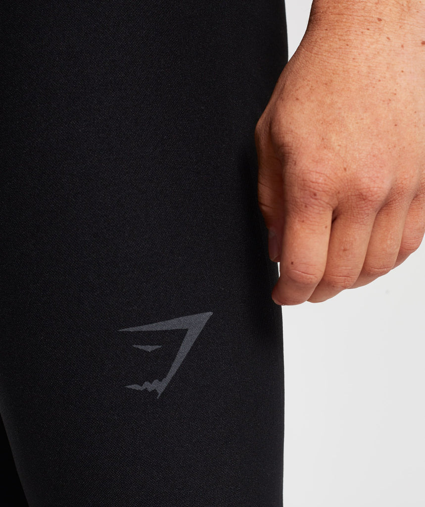 Gymshark Tech Leggings - Black 5