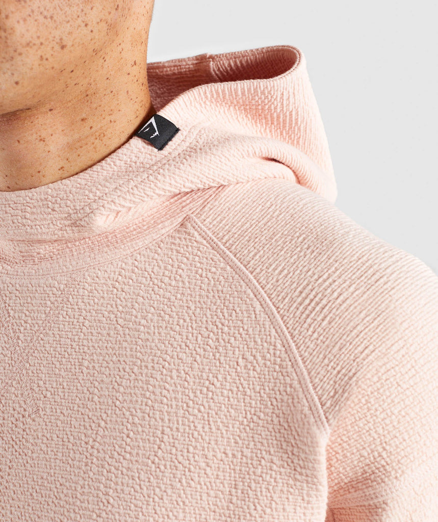 Gymshark Textured Pullover - Blush Nude 6