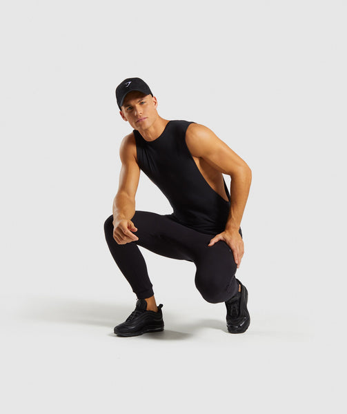 Gymshark Urban Bottoms - Black 4