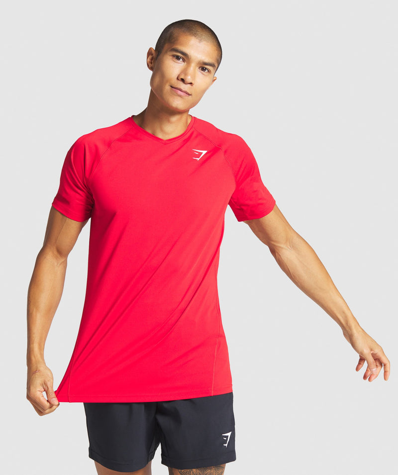 Gymshark Veer T-Shirt - Red