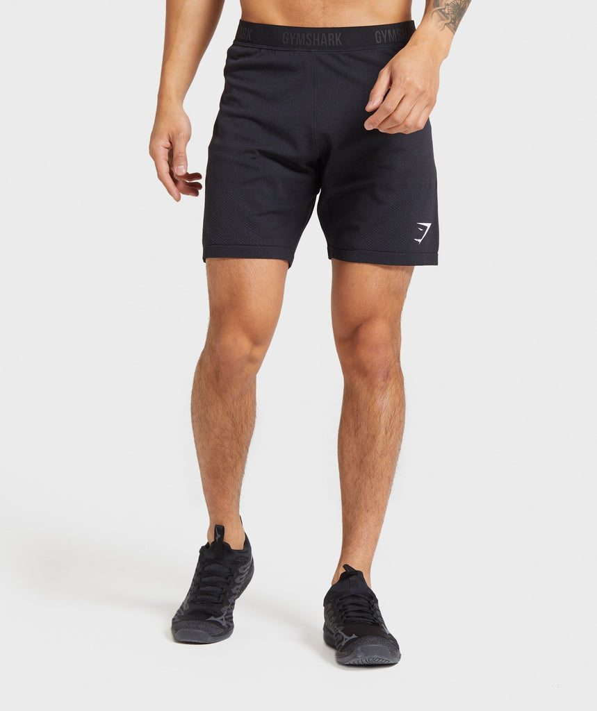 Gymshark Vital Seamless Shorts - Black 1