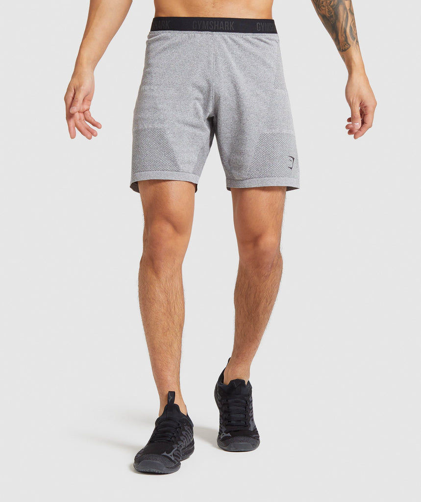 Gymshark Vital Seamless Shorts - Grey 1