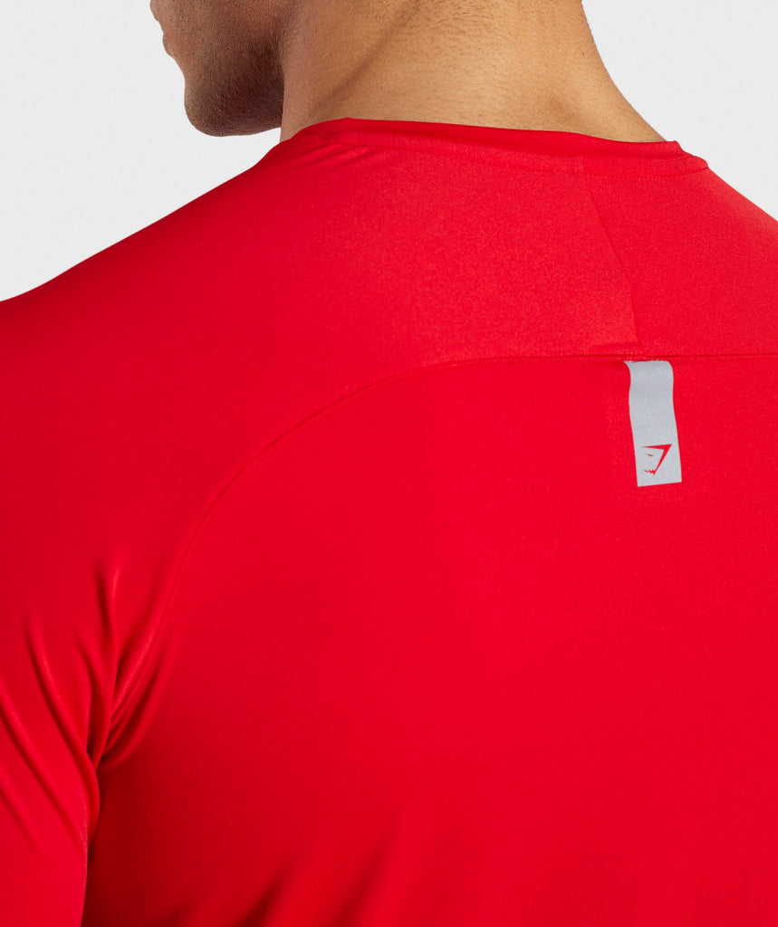 Gymshark Veer T-Shirt - Red 6