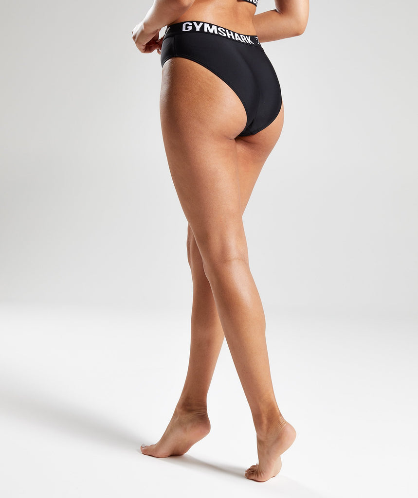 Gymshark Workout Bikini Bottoms - Black 2