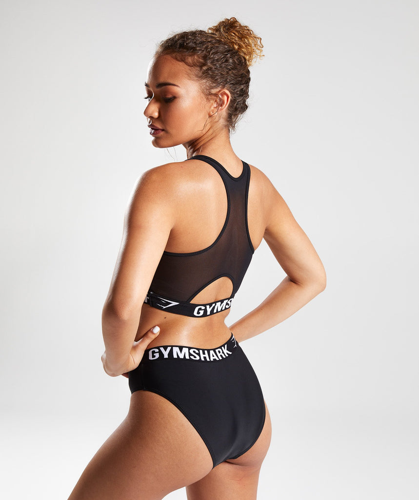 Gymshark Workout Bikini Top - Black 2