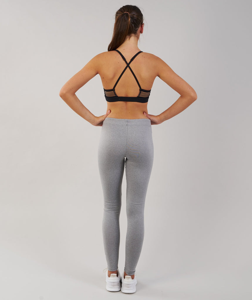 Gymshark Ark Jersey Leggings - Light Grey Marl