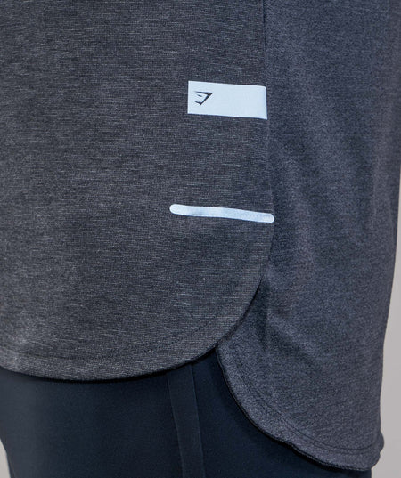 Gymshark Breathe T-Shirt - Black Marl
