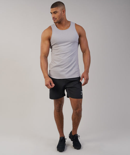 Gymshark Breathe Tank - Light Grey Marl 3