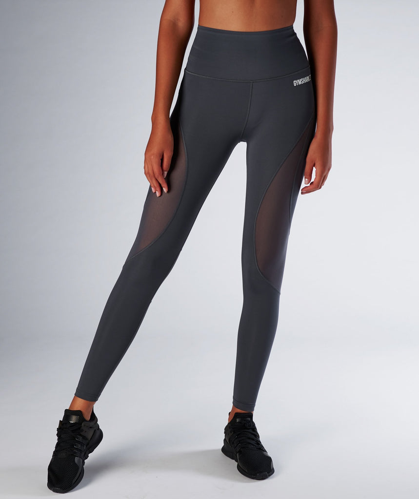Gymshark Fusion Leggings - Charcoal