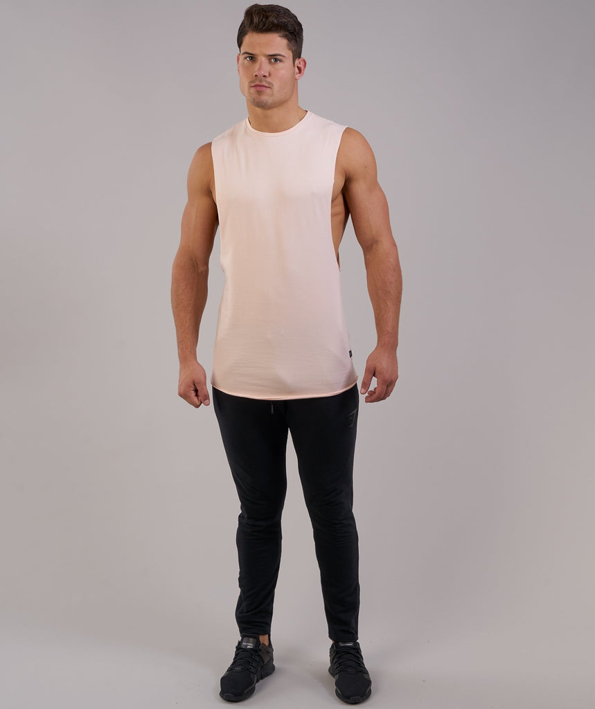 Gymshark Eaze Sleeveless T-Shirt - Soft Pink