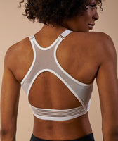 Gymshark Elite Sports Bra - White 12