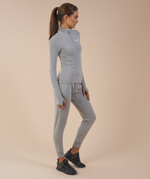Gymshark Fit Pullover - Light Grey 4