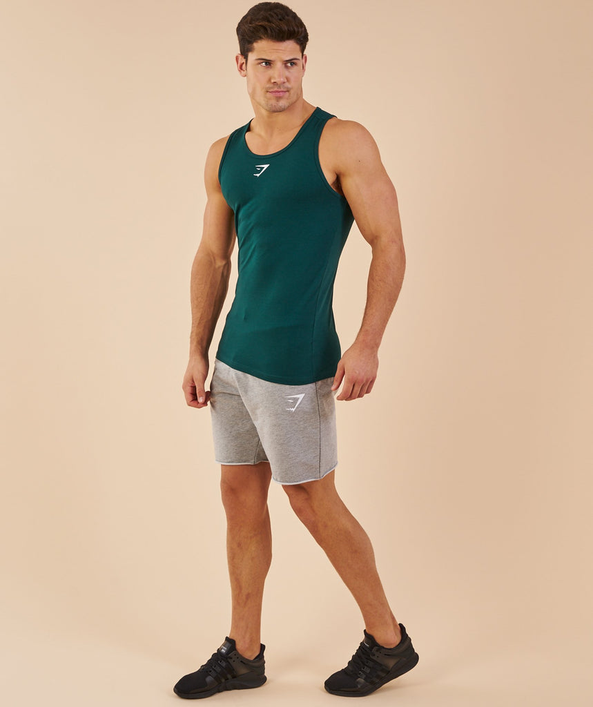 Gymshark Ion Tank - Forest Green