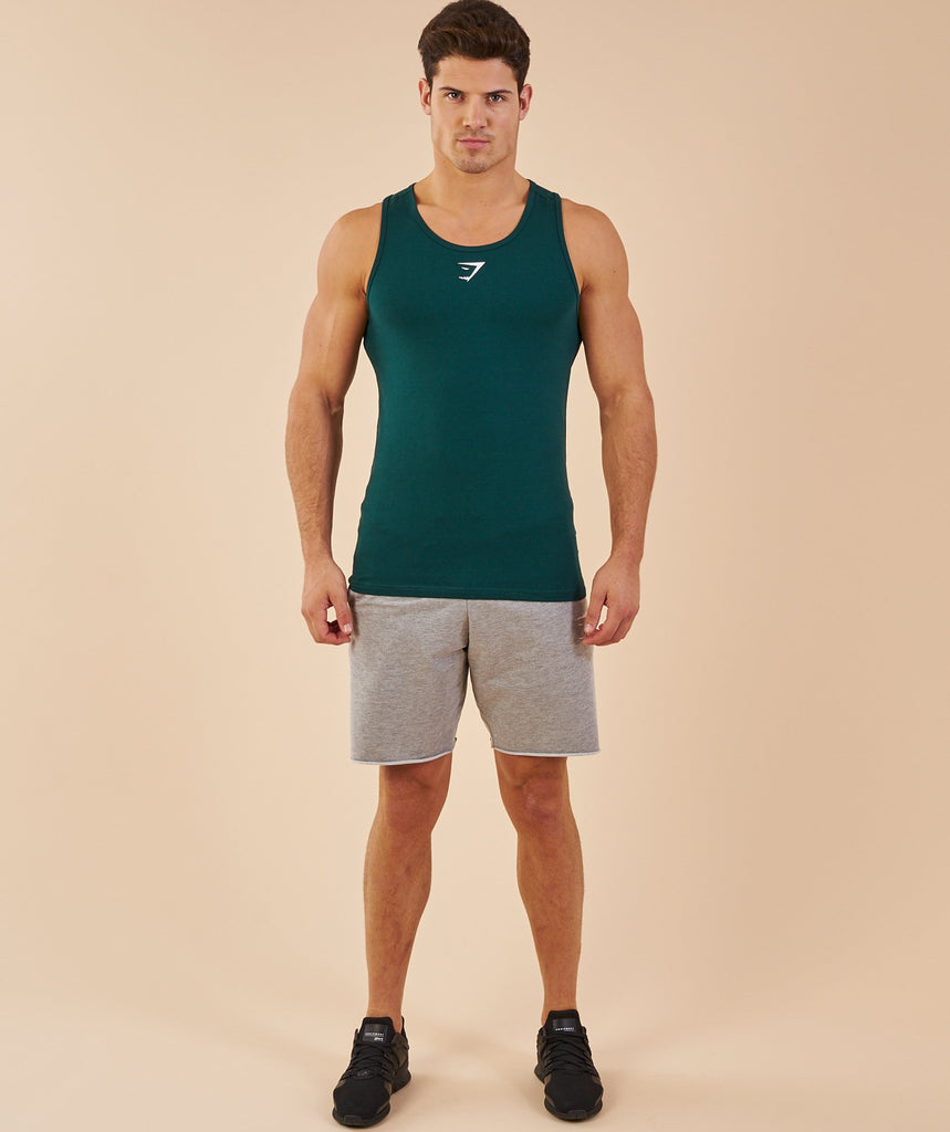 Gymshark Ion Tank - Forest Green 2