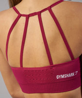 Gymshark Energy Seamless Sports Bra - Beet 12