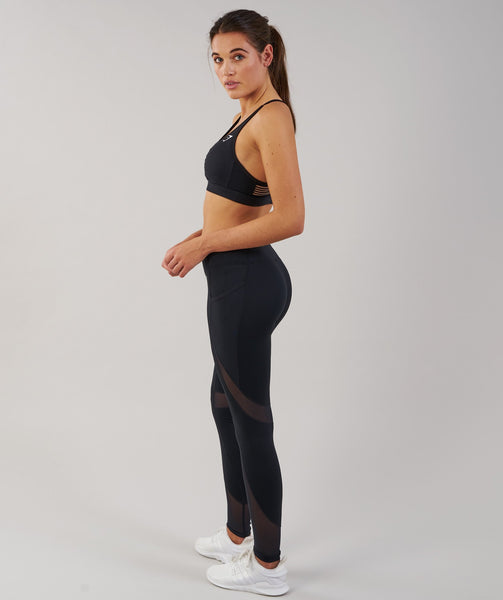 Gymshark Sleek Sculpture Leggings - Black 3