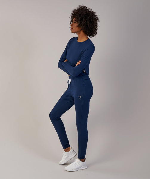 Gymshark Solace Sweater - Sapphire Blue 2