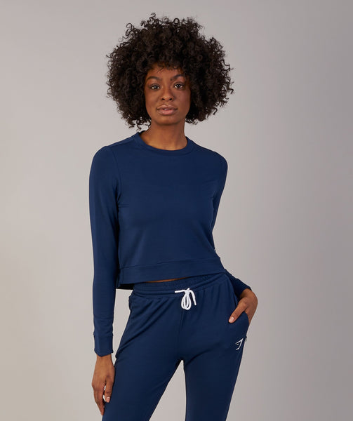 Gymshark Solace Sweater - Sapphire Blue 3