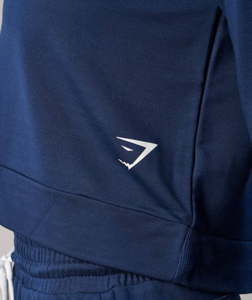 Gymshark Solace Sweater - Sapphire Blue 5
