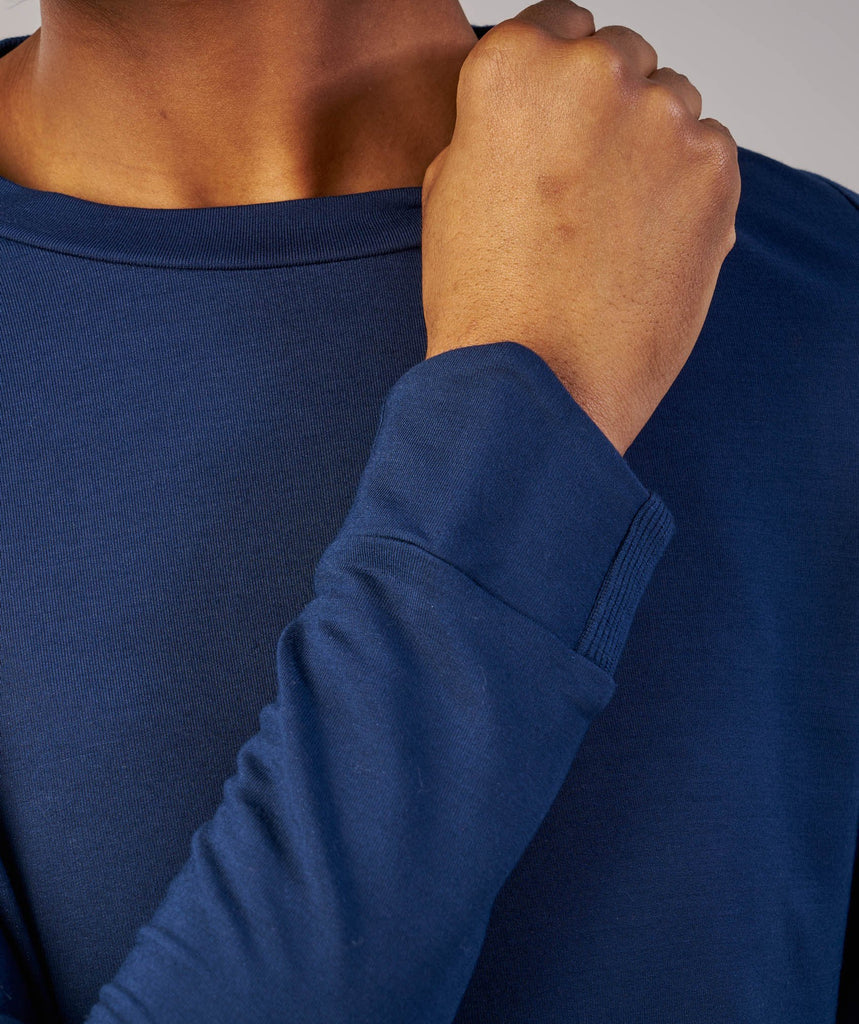 Gymshark Solace Sweater - Sapphire Blue 6