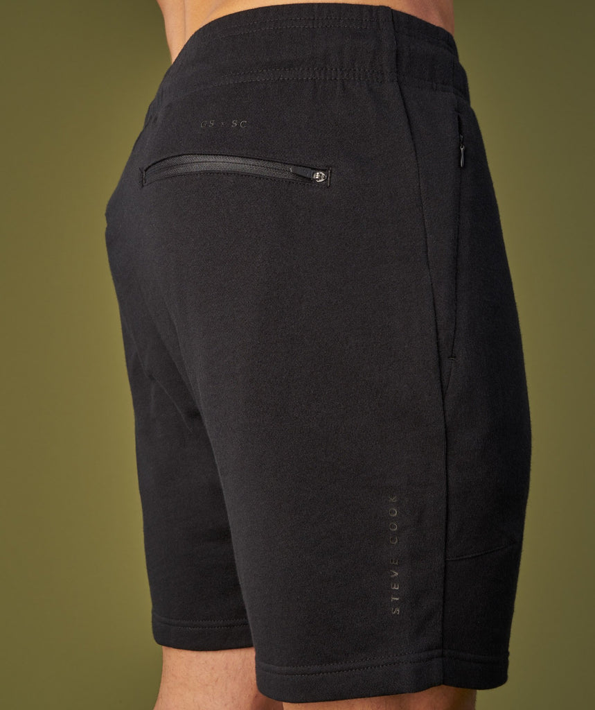 Gymshark Raw Shorts - Black 6