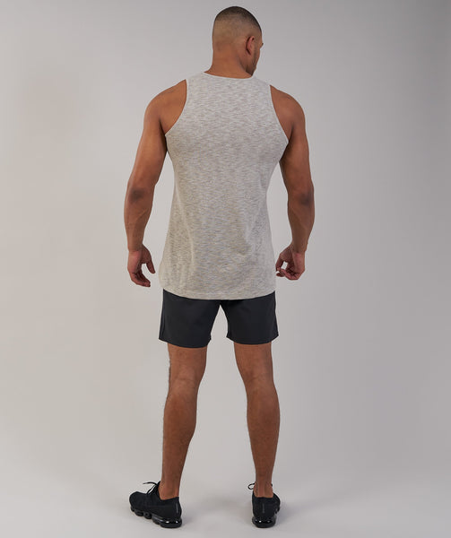 Gymshark Heather Tank - Chestnut Marl 2