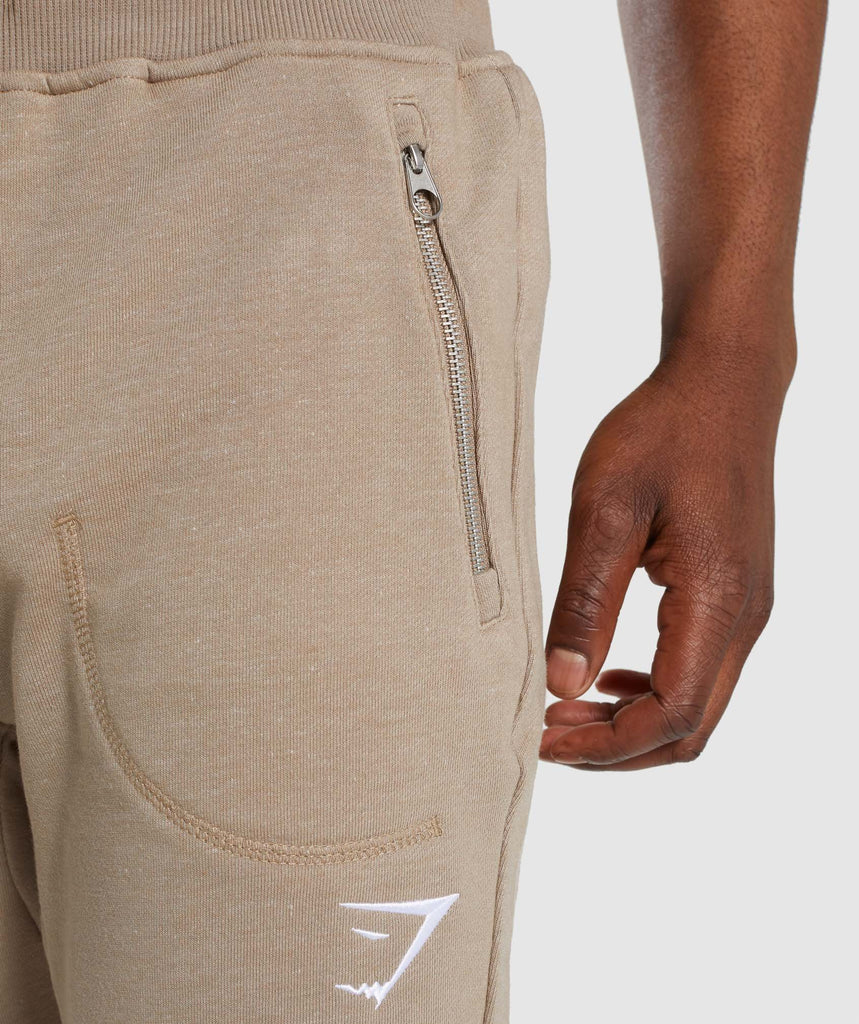 Gymshark Adapt Bottoms - Driftwood Brown Marl 6