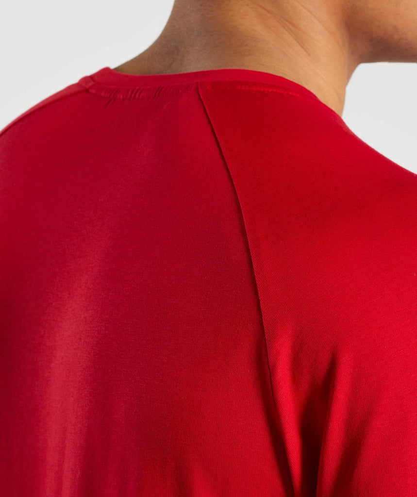 Gymshark Apollo T-Shirt - Red 6