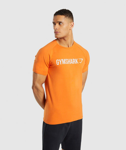 Gymshark Apollo T-Shirt - Orange 4