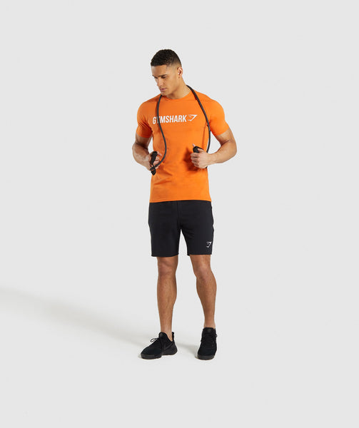 Gymshark Apollo T-Shirt - Orange 2
