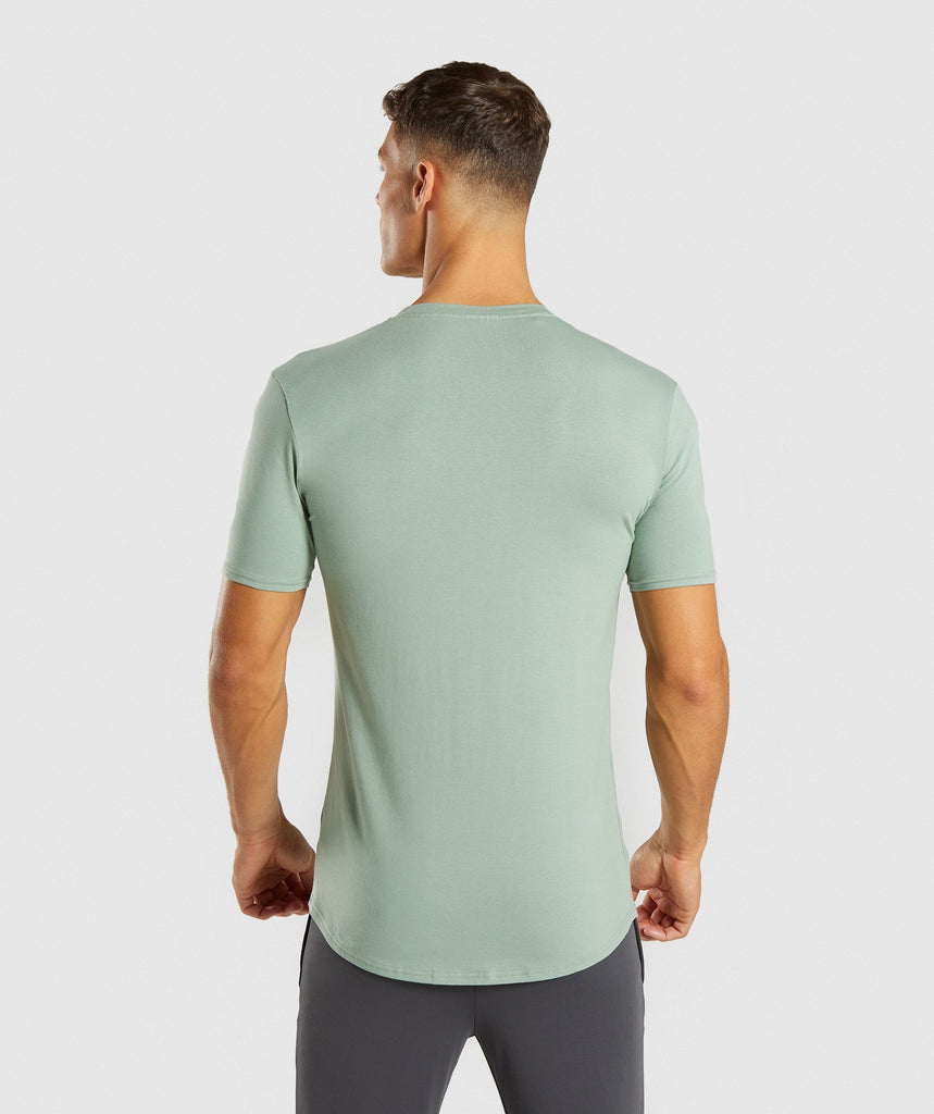 Gymshark Ark T-Shirt - Pale Green 2
