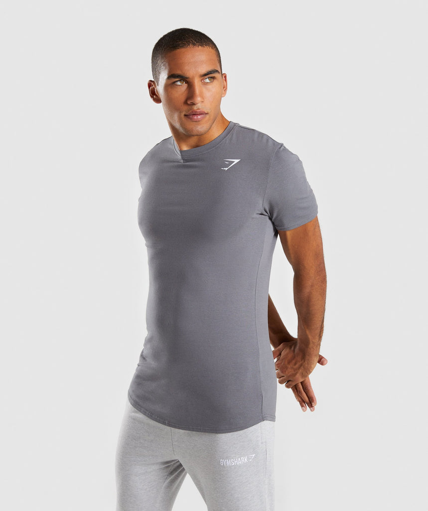 Gymshark Ark T-Shirt - Smokey Grey 1