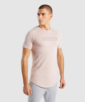 Gymshark Block T-Shirt - Chalk Nude 9