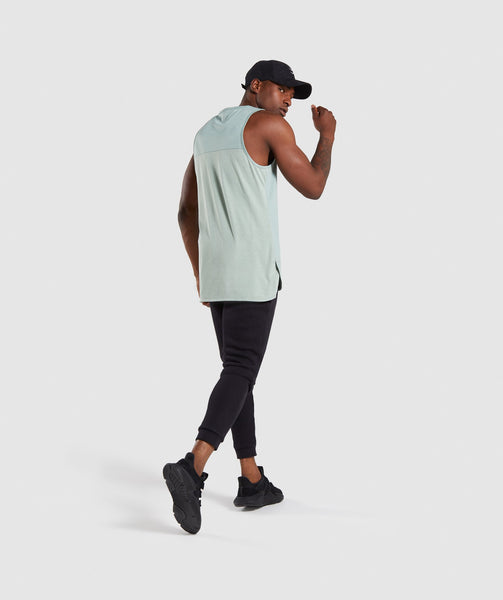 Gymshark Breathe Tank - Pale Green 3