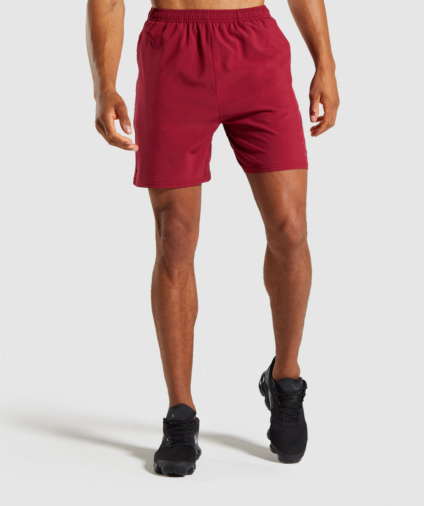 Gymshark Contemporary Shorts - Claret 1