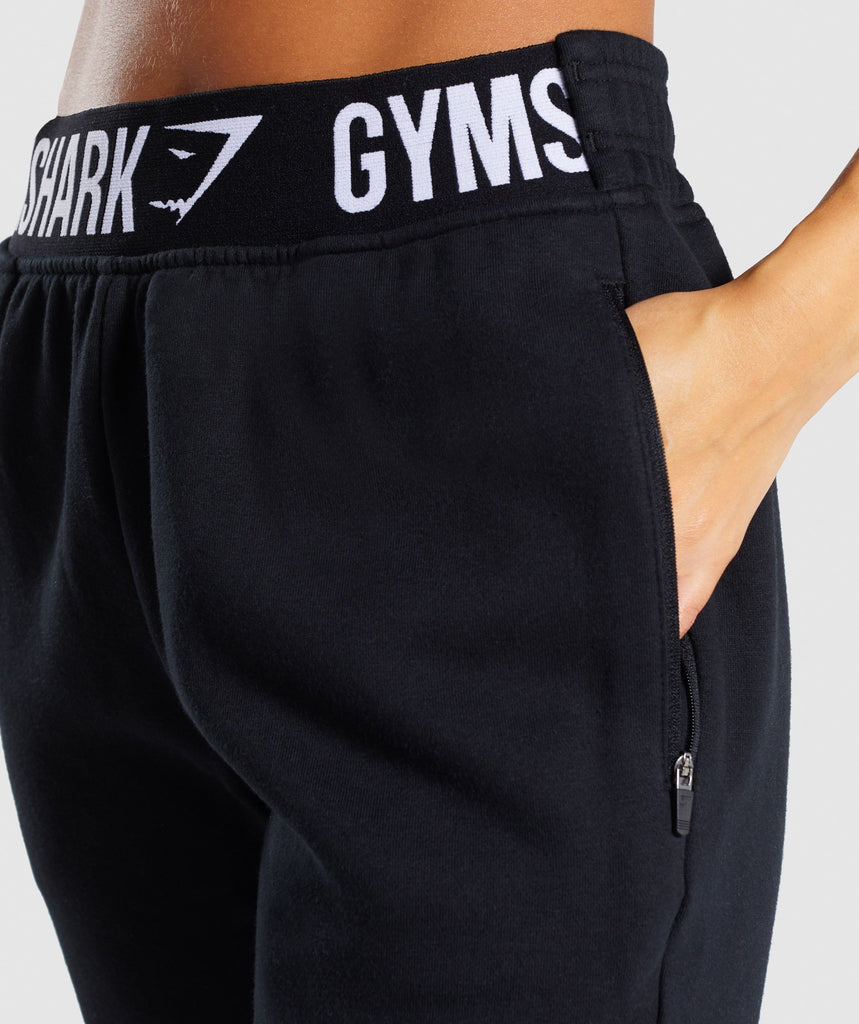 Gymshark Comfy Tracksuit Bottoms - Black 6