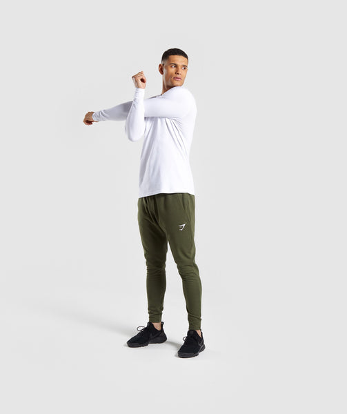 Gymshark Critical Long Sleeve T-Shirt - White 3