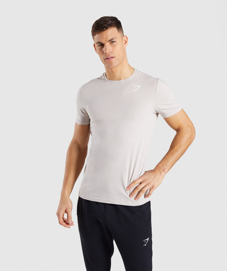 Gymshark Critical T-Shirt - Grey 1