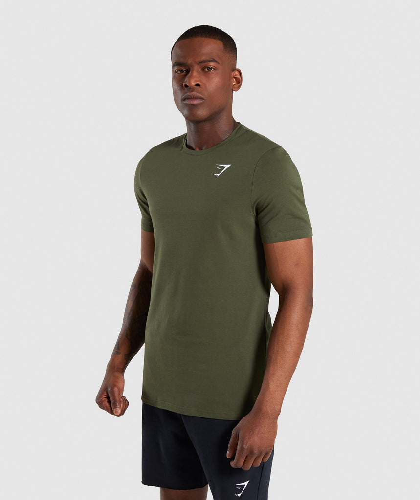 Gymshark Critical T-Shirt - Green 4