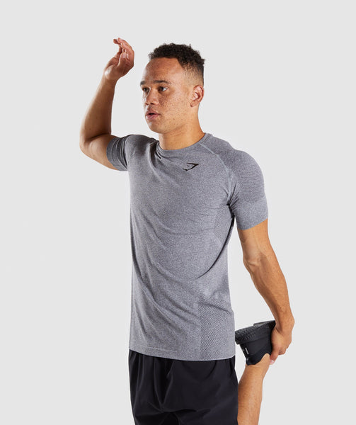 Gymshark Define Seamless T-Shirt - Smokey Grey Marl 4