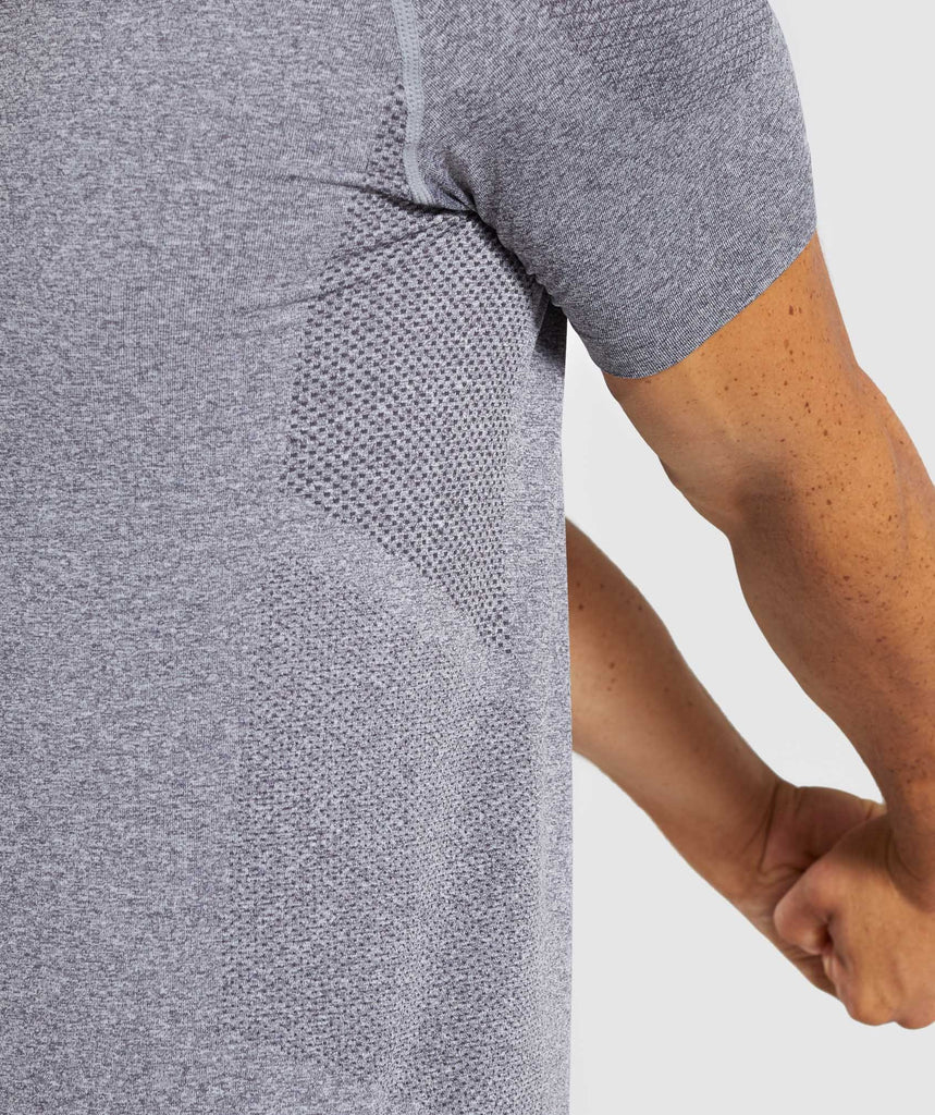 Gymshark Define Seamless T-Shirt - Smokey Grey Marl 6
