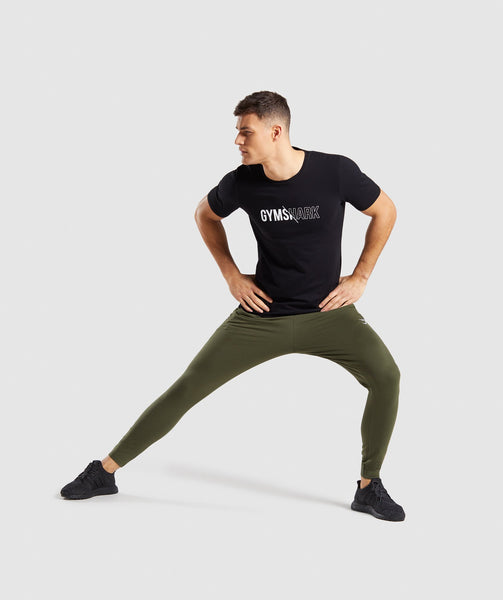 Gymshark Distort T-Shirt - Black 3