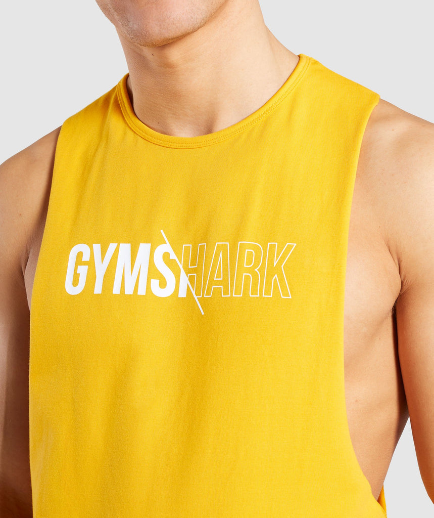Gymshark Distort Tank - Citrus Yellow 5