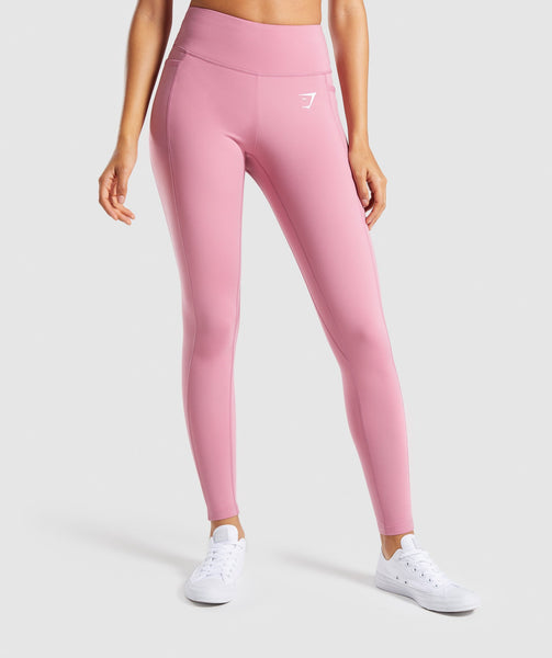 Gymshark Dreamy Leggings 2.0 - Dusky Pink 4