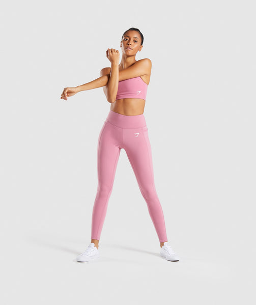 Gymshark Dreamy Leggings 2.0 - Dusky Pink 3