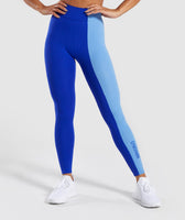 Gymshark Duo Leggings - Cobalt/Blue 7