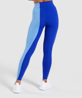 Gymshark Duo Leggings - Cobalt/Blue 8