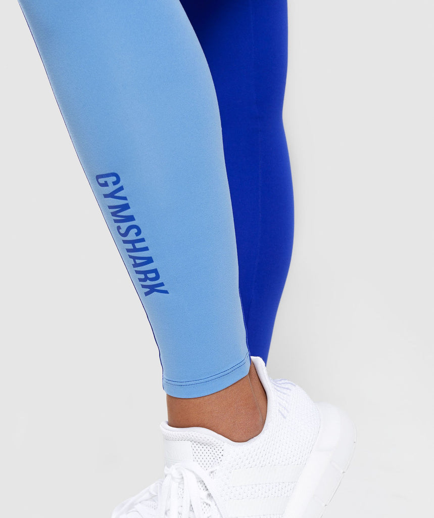 Gymshark Duo Leggings - Cobalt/Blue 6