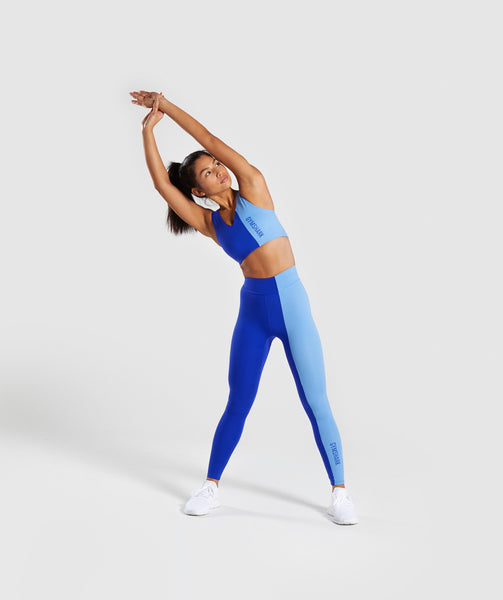 Gymshark Duo Leggings - Cobalt/Blue 3