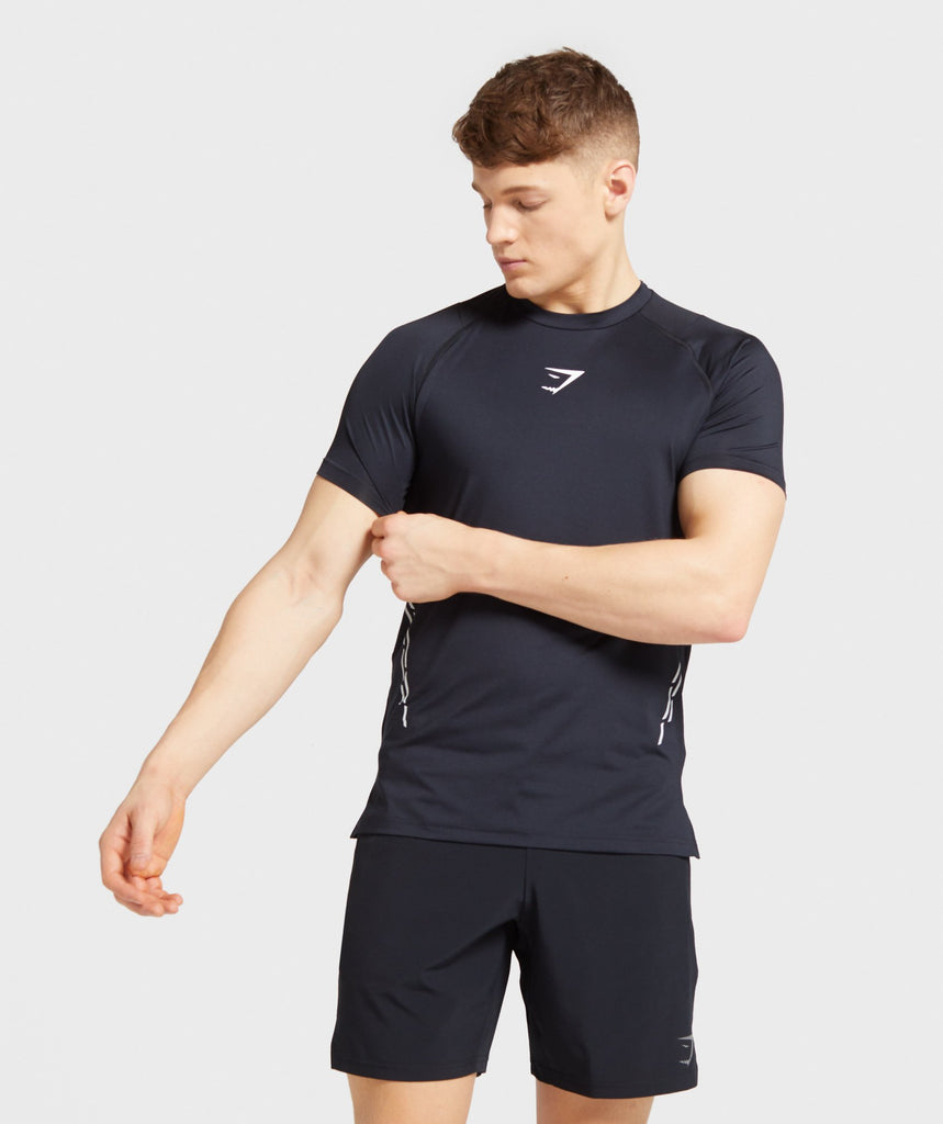 Gymshark Element Hiit T-Shirt - Black 1